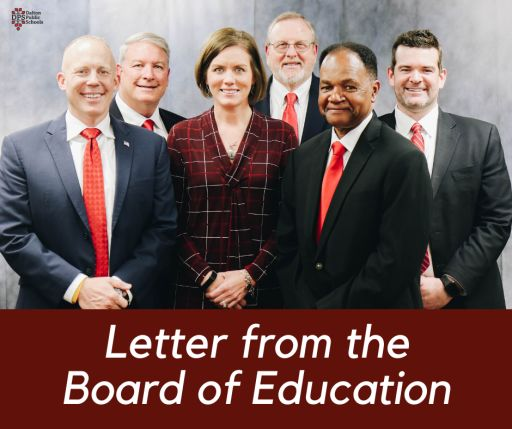 Letter from the DPS Board of Education