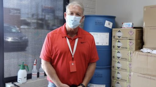 Message from Dr. Tim Scott - Safety Supplies for School
